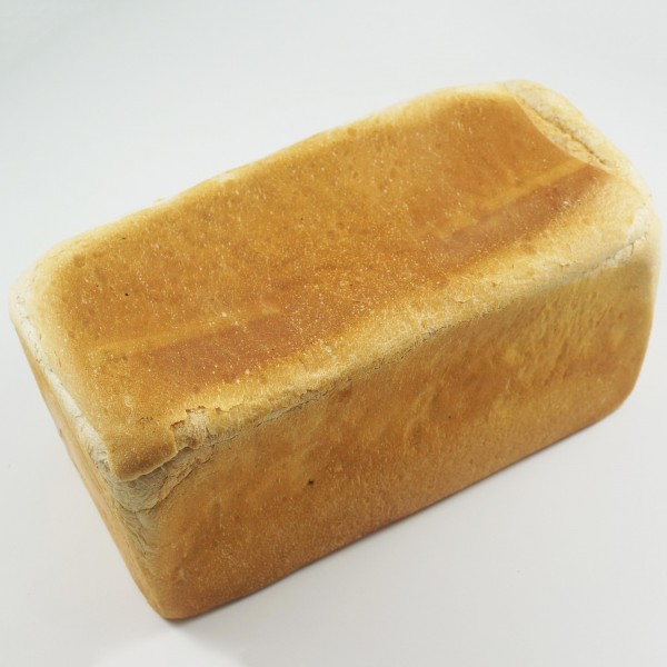 thin white bread loaf
